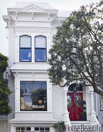 A Fun Unfussy Victorian Exterior House Colors Victorian Homes Exterior Victorian Exterior
