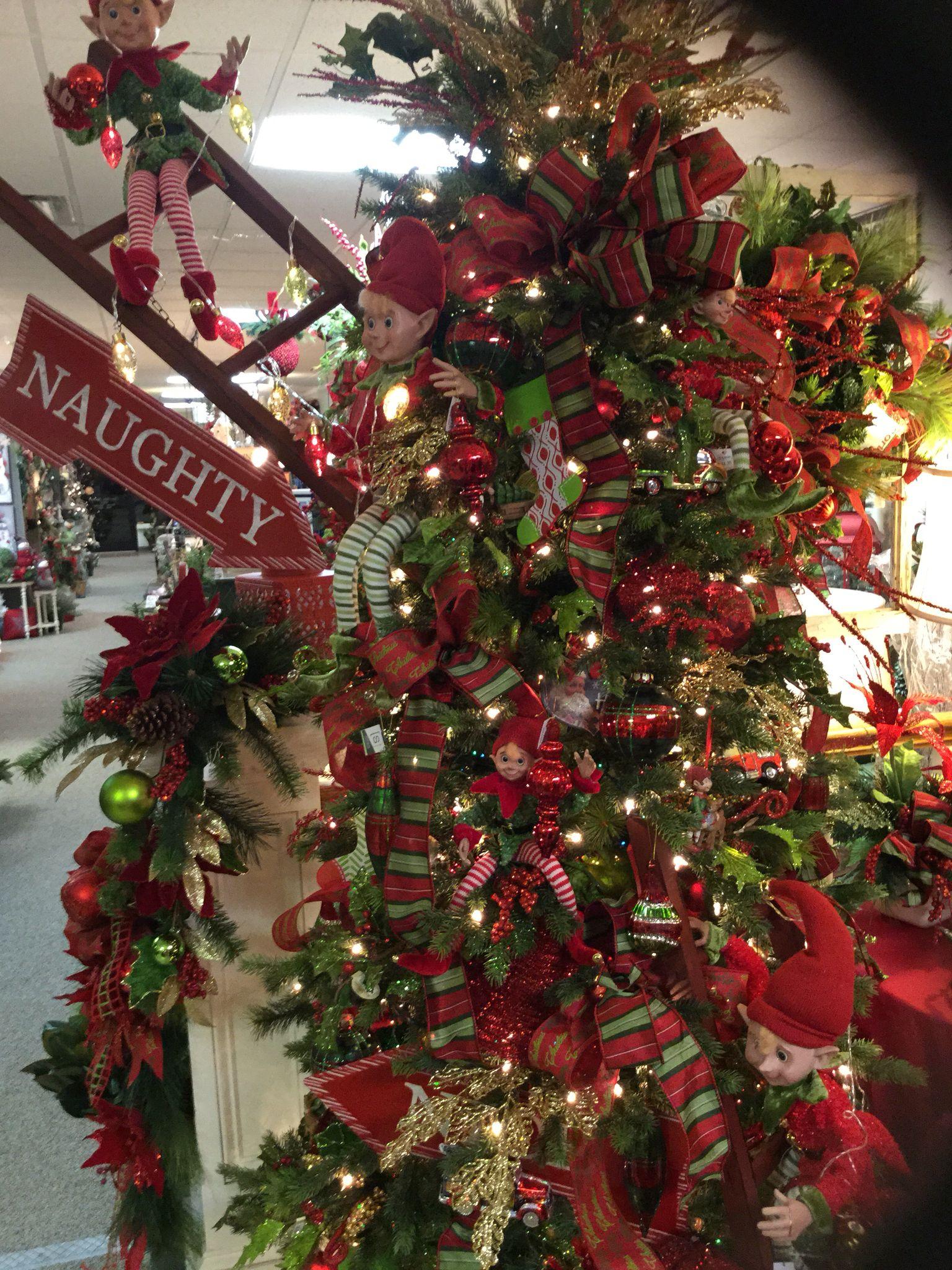 Elf Tree Elf Christmas Tree Amazing Christmas Trees Storing Christmas Decorations