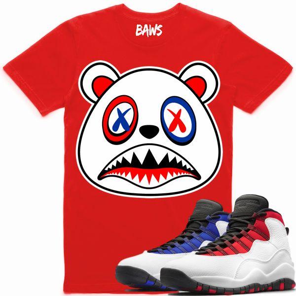49889d299f8b8c Baws Clothing Shirt to match the Nike Air Jordan Retro 10
