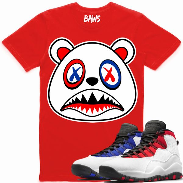 077f15a1e3a1 Baws Clothing Shirt to match the Nike Air Jordan Retro 10