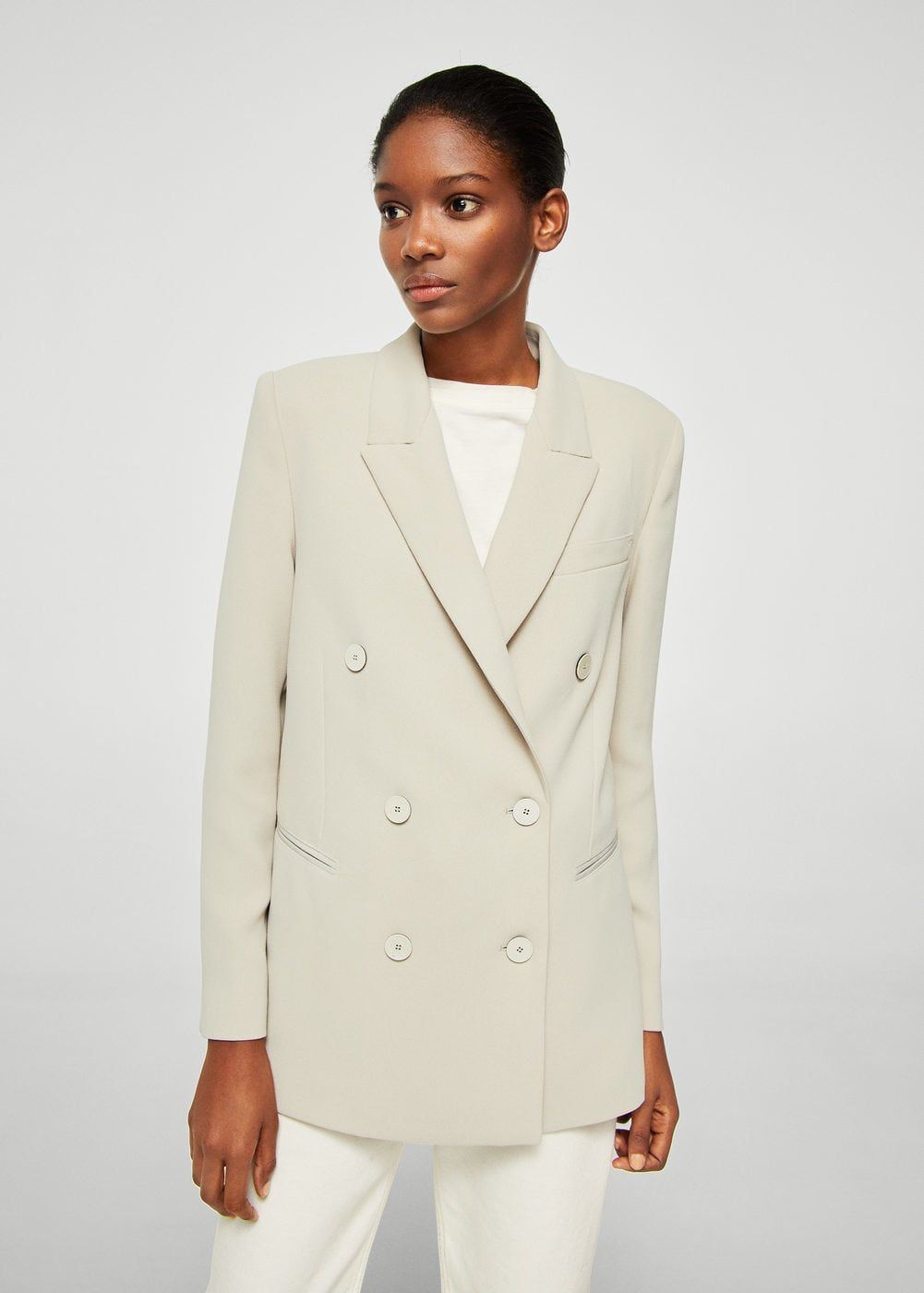 Americana costuras contraste Mujer | MODA . Low Cost