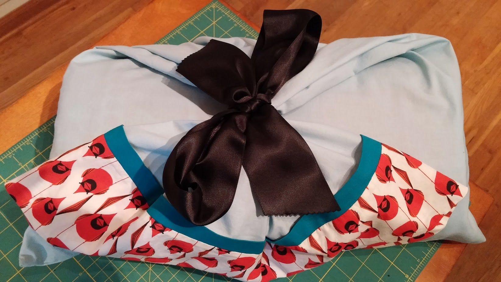Charley Harper Birch Quilt - pillow case giftwrap