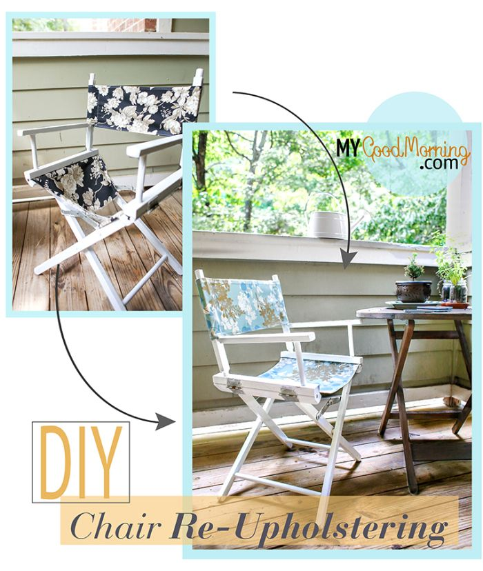 diy how to make slip covers for directors chair