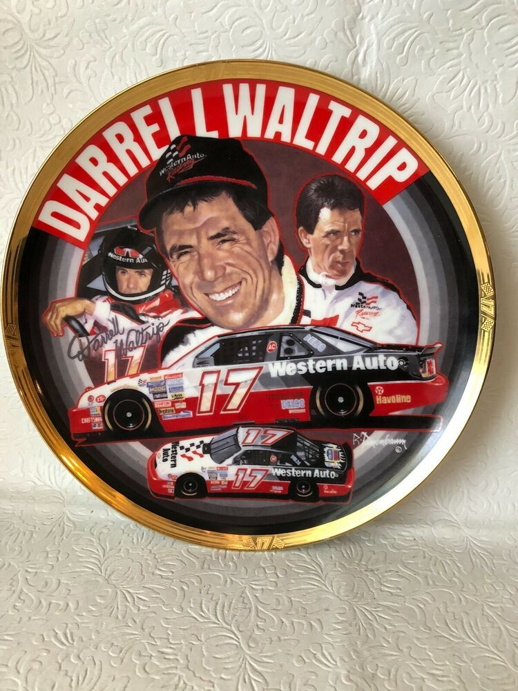 NASCAR Collectible Plate 1994 Darrell Waltrip numbered