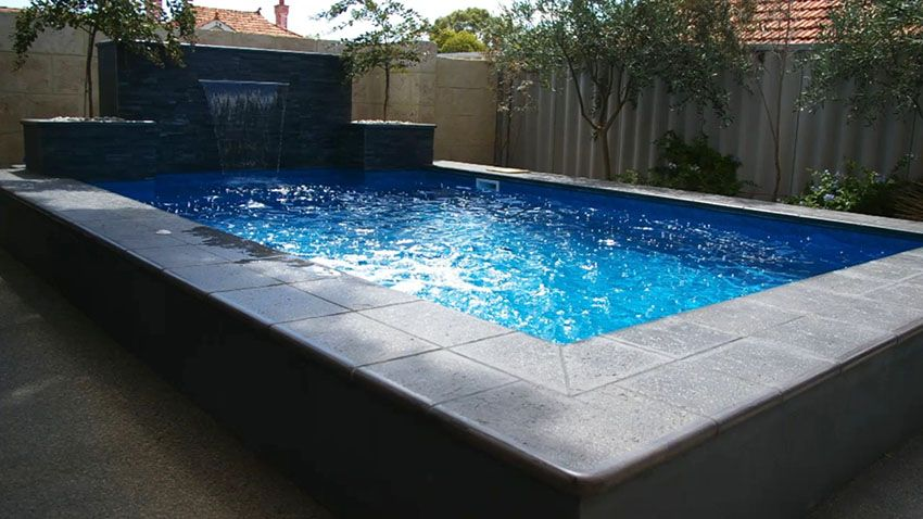 37 Swimming Pool Water Features Waterfall Design Ideas Cool