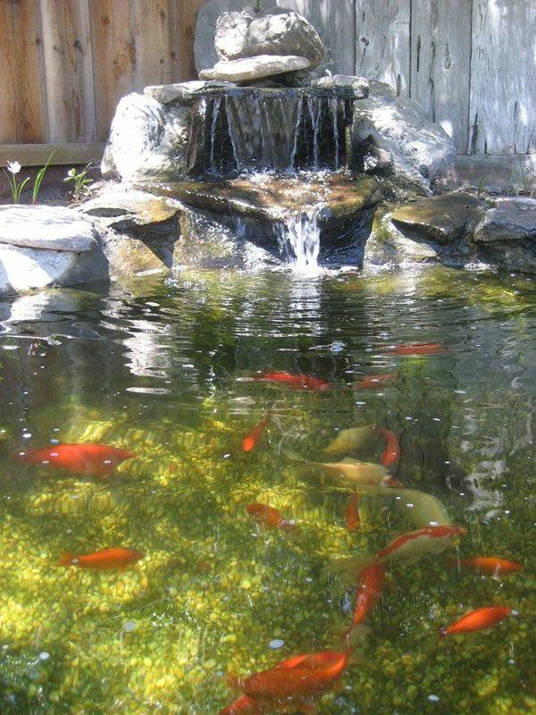 Decoration De Jardin Avec Une Fontaine Pour Bassin Fontaine De Jardin Paysager Des Etangs Et Cascade De L Etang