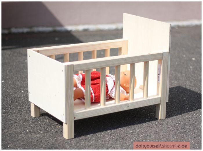 Puppen Etagenbett Selber Bauen : Hochbett aus holz puppen hochbetten