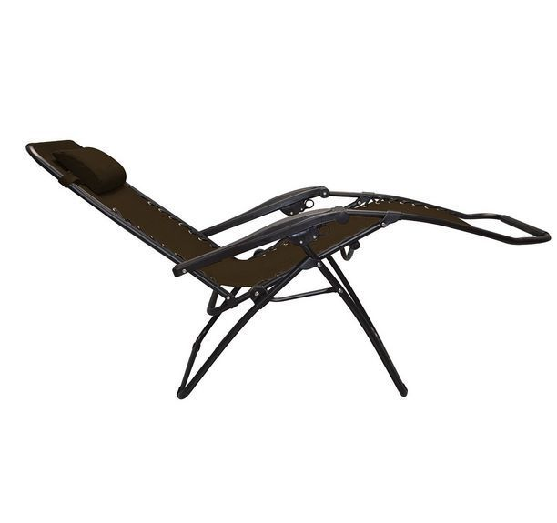 Recliner Lawn Chairs Folding Replacement Cushions For Papasan Chair Australia Heavy Duty Brown Zero Gravity Beach Adjustable Lounge Headrest Caravancanopy