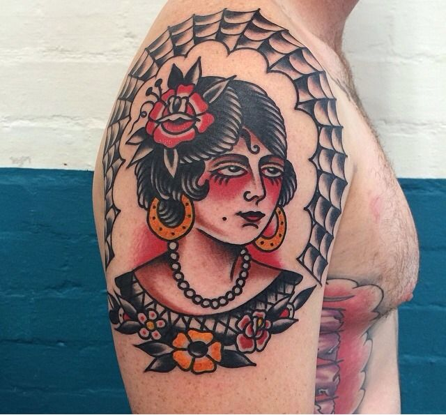 Fergus Simms Melbourne Australia Traditional Style Tattoo