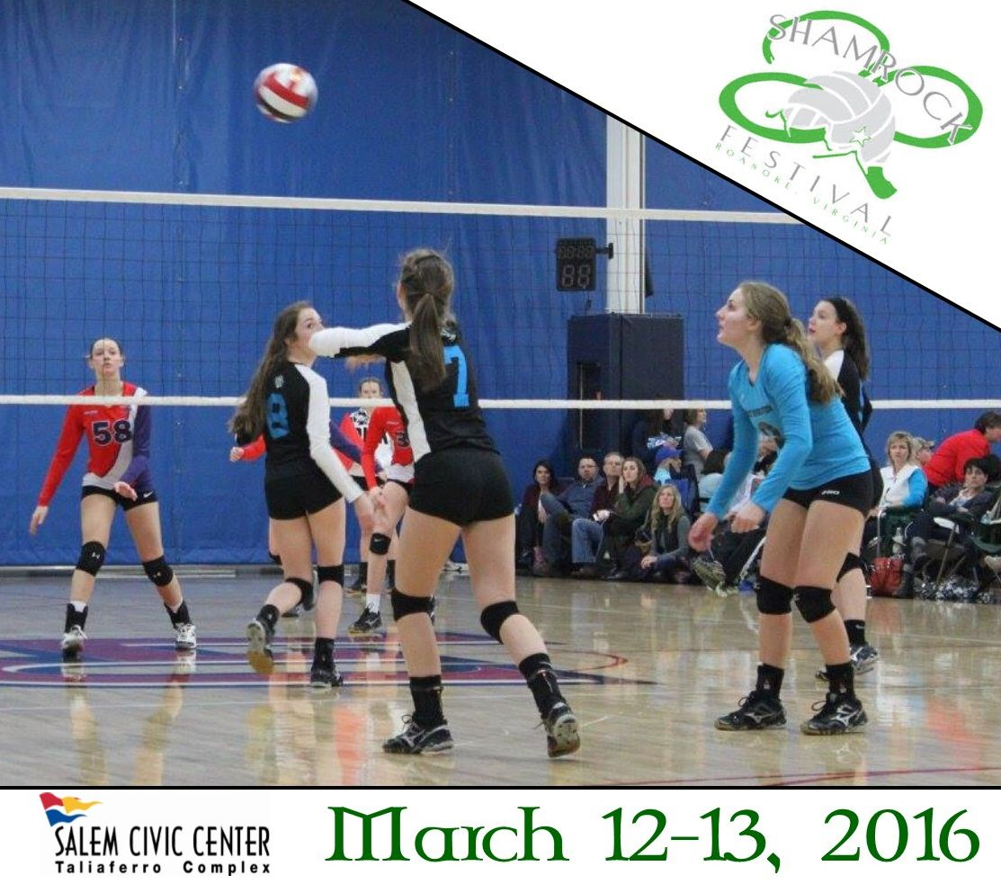 The Shamrock Festival Is One Of The Largest Nationally Sanctioned Usav Tournaments And One Of The Premier Volleyball Events For Sport Event Civic Civic Center