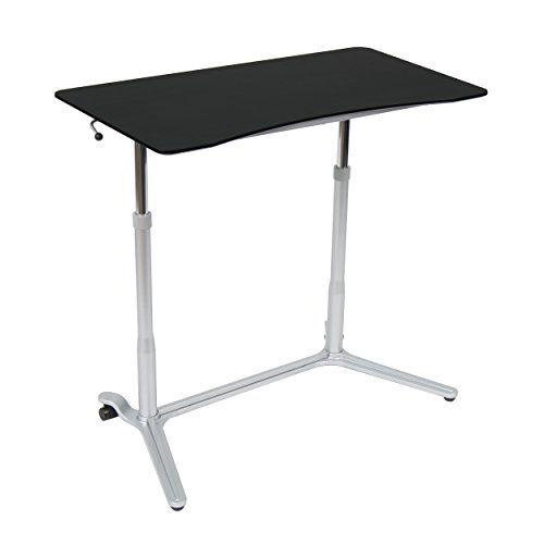 Calico Designs 51230 Sierra Height Adjustable Desk, Silver/Black Calico Designs