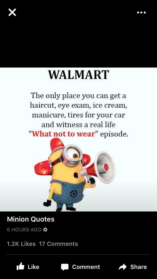 Walmart minion | Minions | Minions, Funny, Walmart