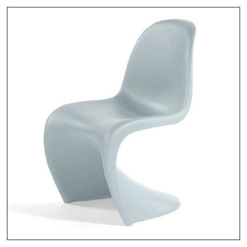 jen panton chair by vitra color ice grey by vitra http www