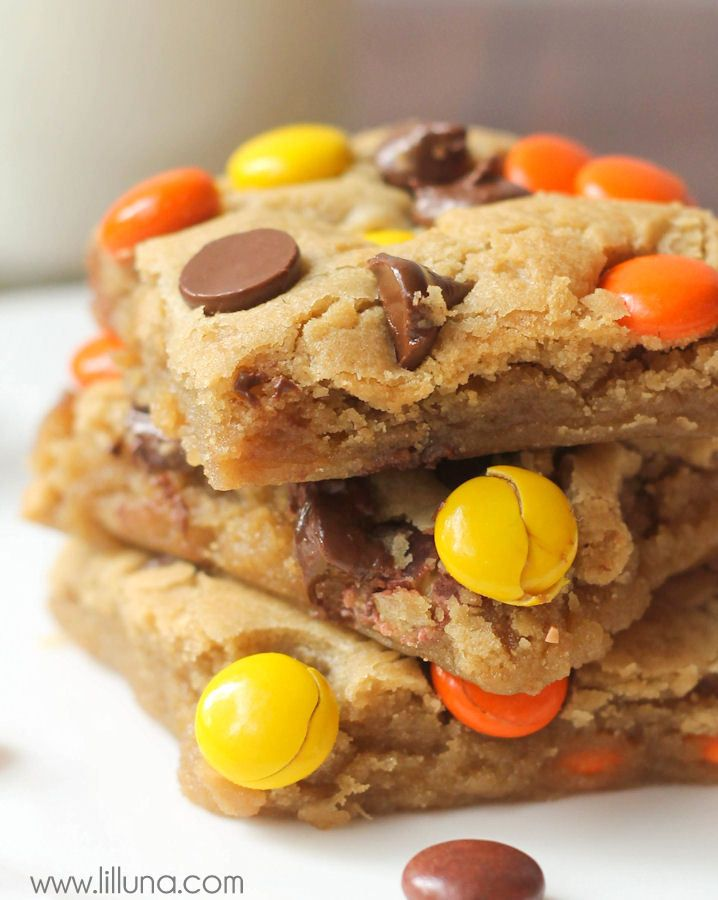 Blonde Brownie Recipes Peanut Butter