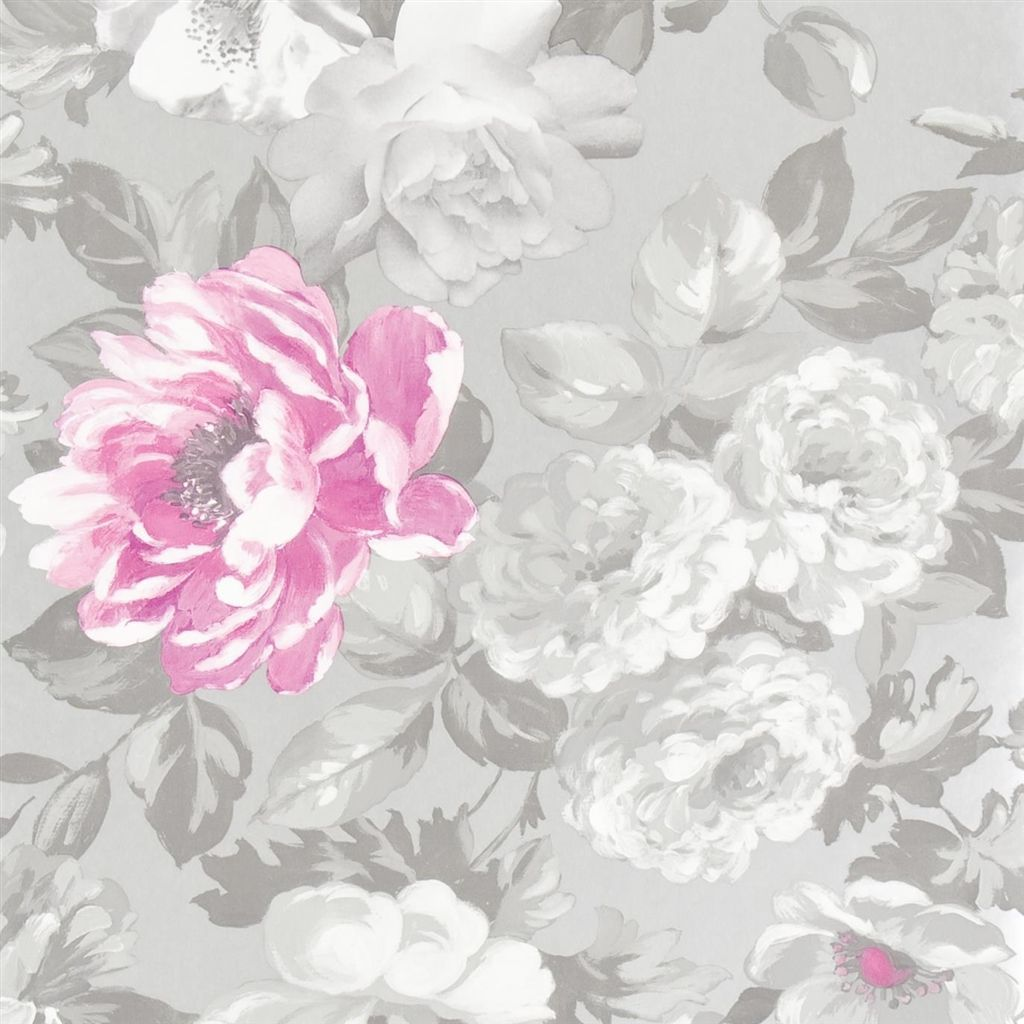 roseus peony wallpaper Designers Guild Hotel Design