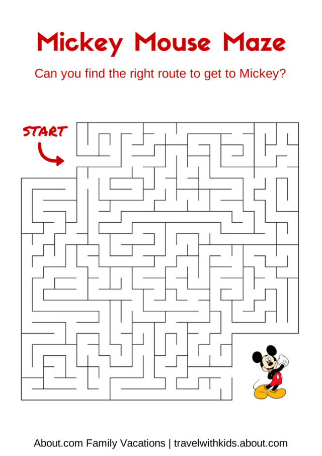 Mickey Mouse Worksheets For Preschool Mickey Best Free