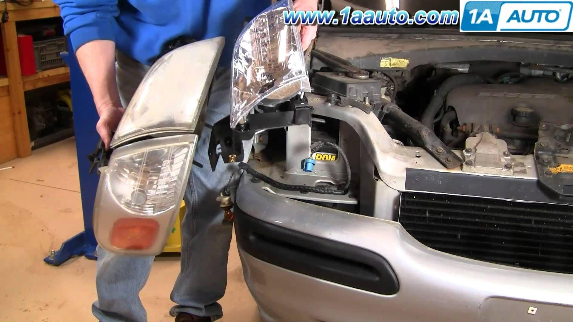 How to install replace headlight chevy venture pontiac montana more 97 0