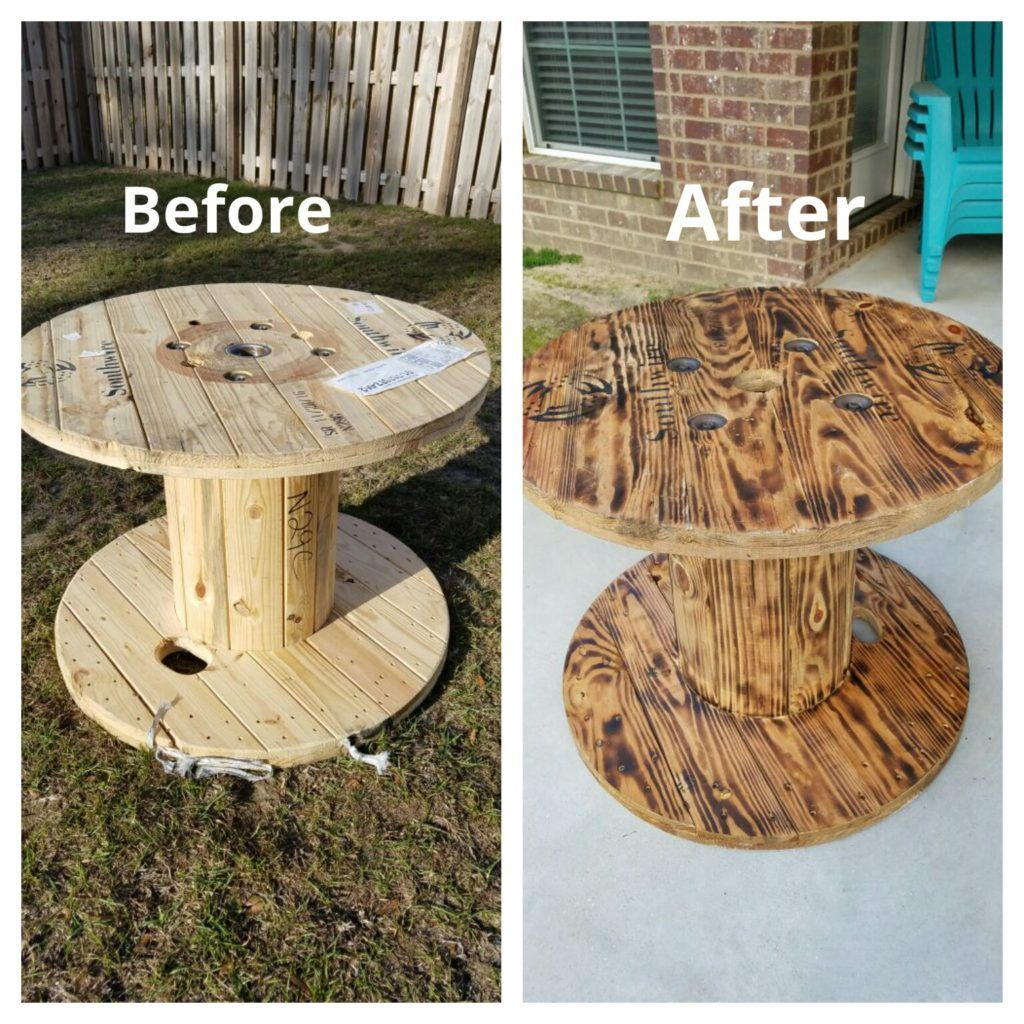 How To Upcycle Wooden Spools To Look Amazing!! (With