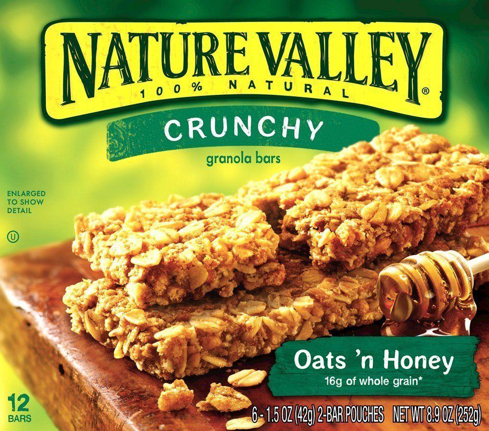 Nature Valley Oats N Honey Granola Bars Take Real Honey And Brown Sugar Syrup Combine T Honey Granola Nature Valley Granola Nature Valley Crunchy Granola Bars