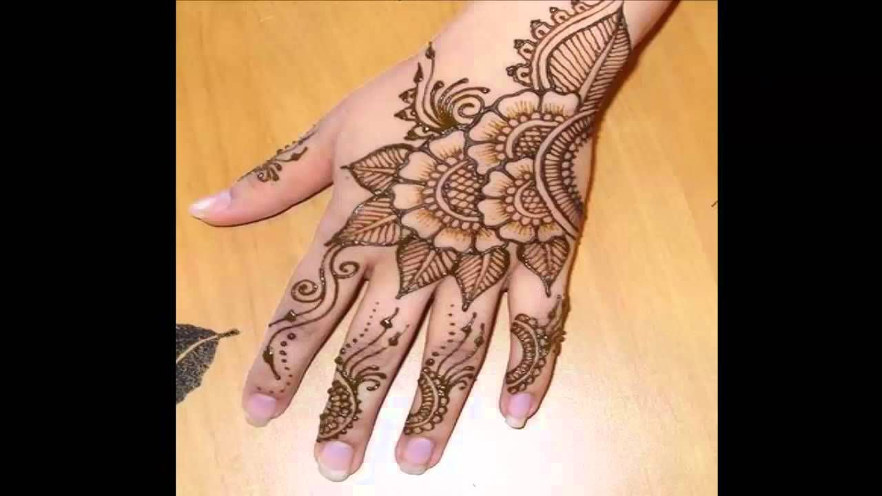 Bridal Mehndi In Jalandhar : Beautiful mehndi design for function in wedding samina