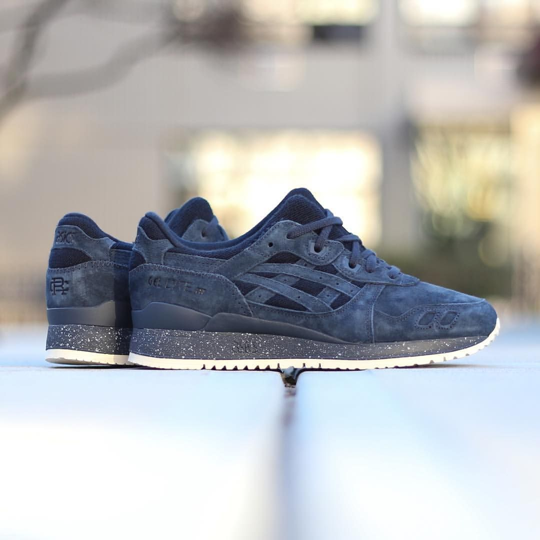 hot sale online 04a6b fda0c Reigning Champ x Asics Gel-Lyte III, available now - bdgastore.com. Find  this Pin and more on sneakers ...