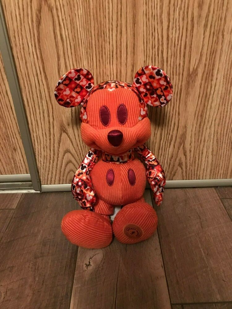 NWT Mickey Mouse Memories July Plush Disney Store Limited edition