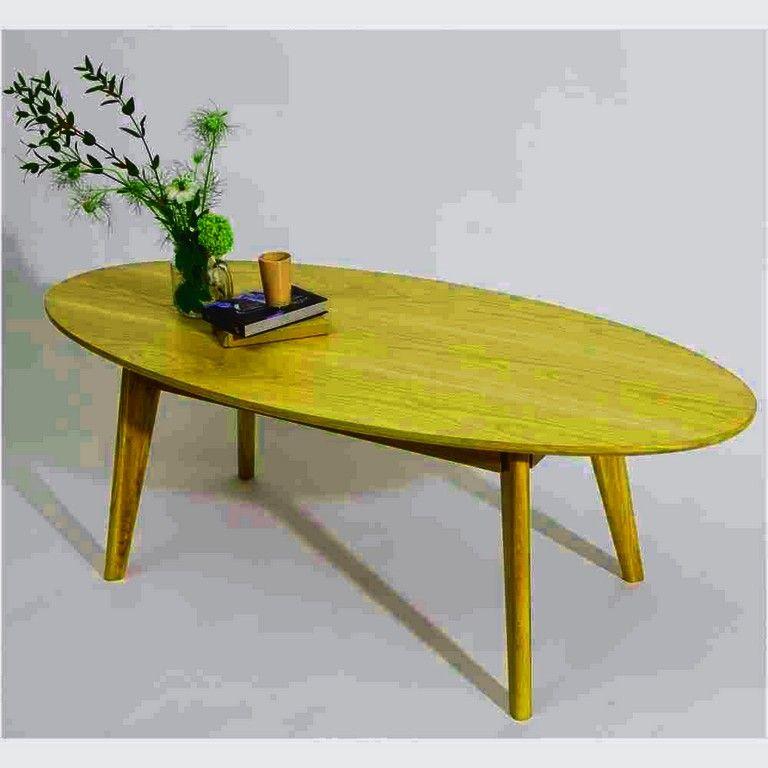 Petite Table Basse Scandinave Inspiration Table Basse Ovale Bois Clair Wraste De Petite Table Di 2020