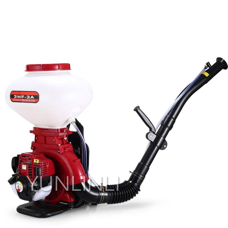 Engine Spray Machine 1500w 2 Stroke 4 Stroke Agricultural Multi Purpose Sprayer Spray Pellets Dry Powder Machine Lawn Garden Sprayer Gasoline Engine Sprayers