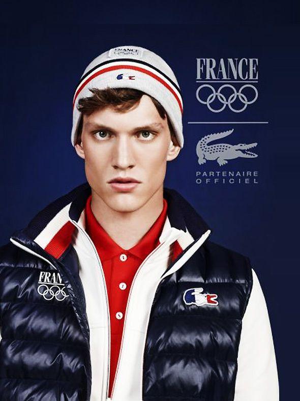 f66a62f527 Lacoste a dévoilé les tenues officielles de l\u0027Equipe de France pour  les prochains Jeux Olympiques de 2014 qui se dérouleront à Sotchi en Russie.