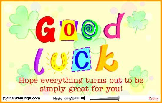 Charming 11 Best Of Luck Wishes Quotes Greeting Ecards For Exams And Exam Best Wishes Cards