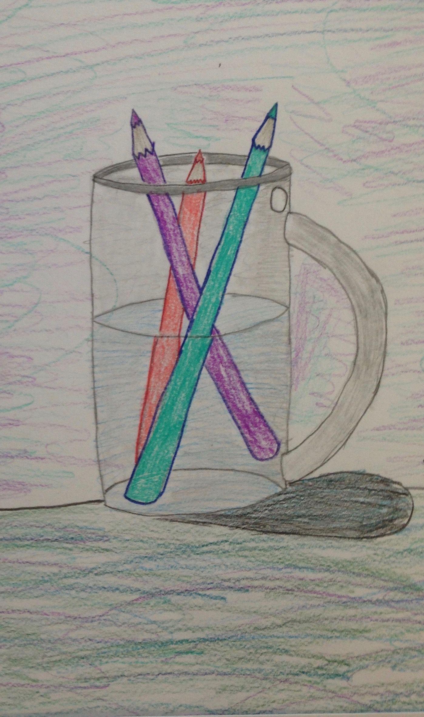 Grade 4 Colored Pencil Shading