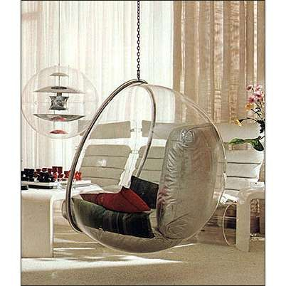 Bubble chairs ball chairs and egg chairs thisnext for Chairs that hang from the ceiling ikea