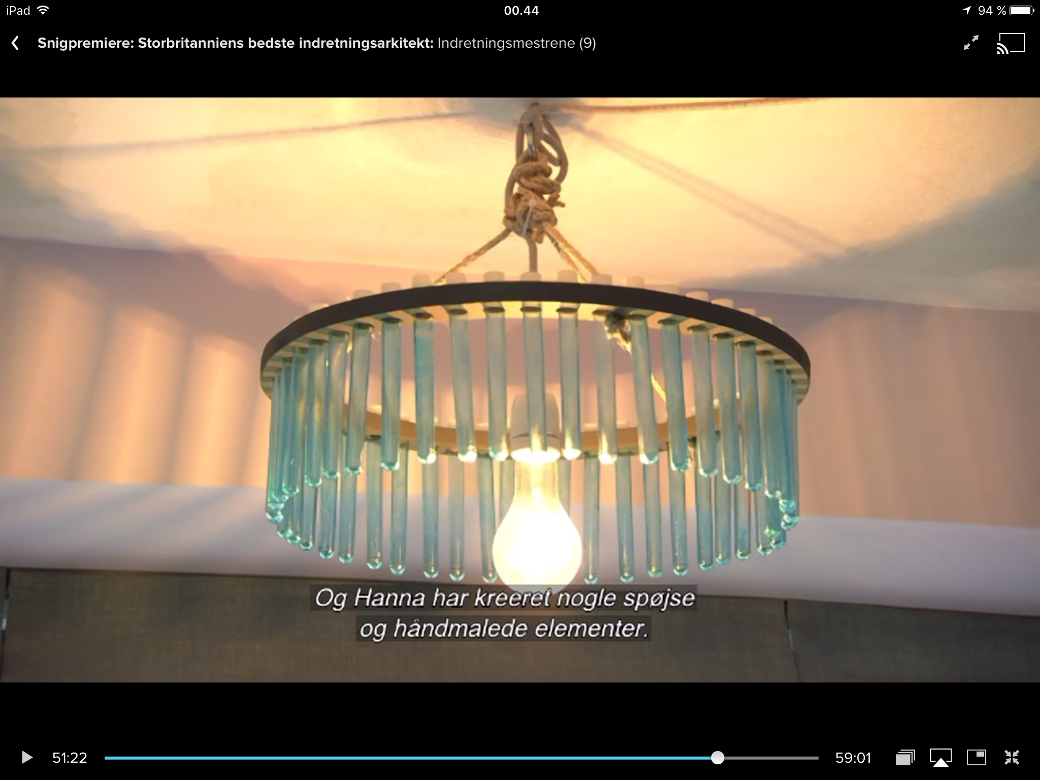 The Great Interior Design Challenge: Lampe