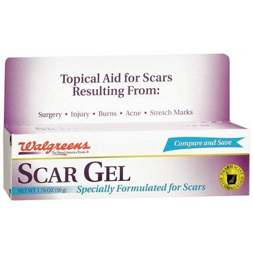 Walgreens Scar Gel 17 Oz Continue To The Product At The Image Link