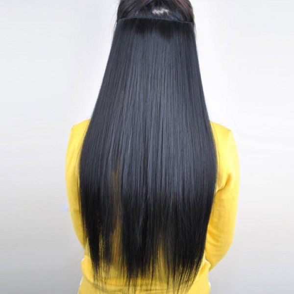 Pretty black overproof long straight high temperature fiber pretty black overproof long straight high temperature fiber womens hair extension black in hair extensions pmusecretfo Image collections