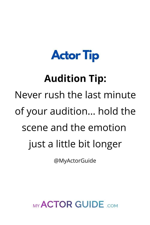 Actor Pro Tip