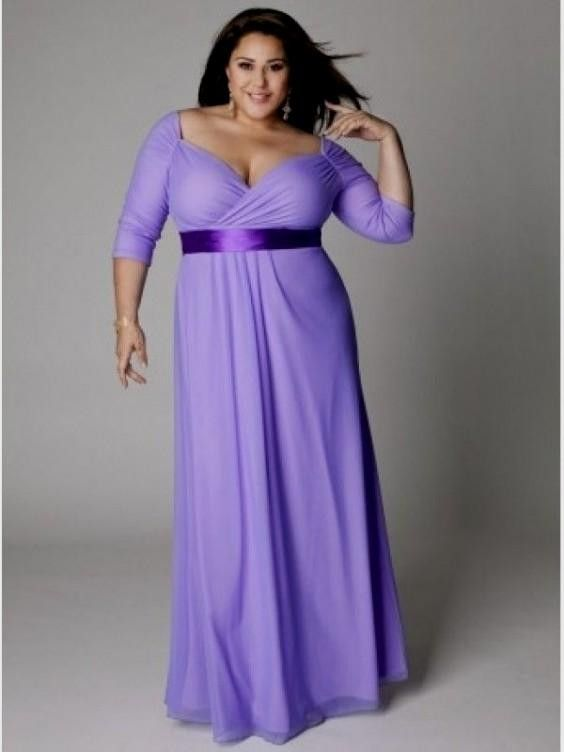 749b50fbcec cutethickgirls.com lavender plus size dresses (14)  plussizedresses ...