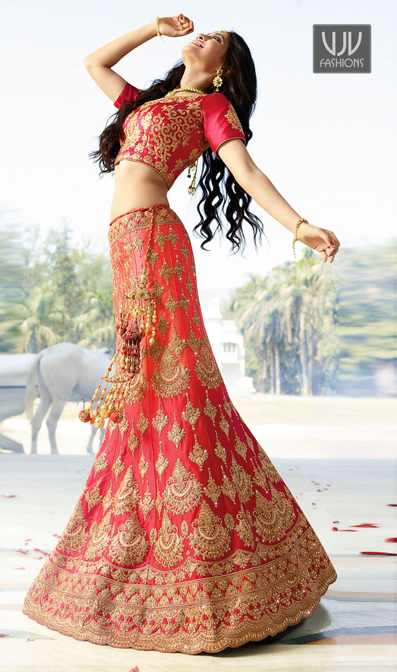 c30172d423 Shivangi Joshi Lovely Pink Designer Lehenga Choli | Shivangi Joshi ...