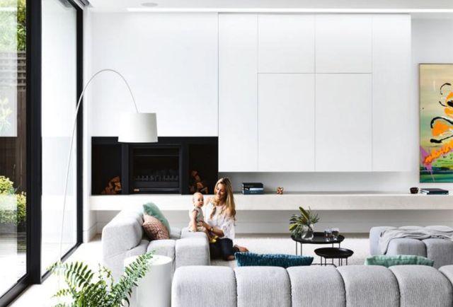 Minimalistisch huis in melbourne vol met kleur interior junkie