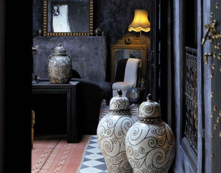 exotic design of riads in old town of marrakesh | moroccan decor