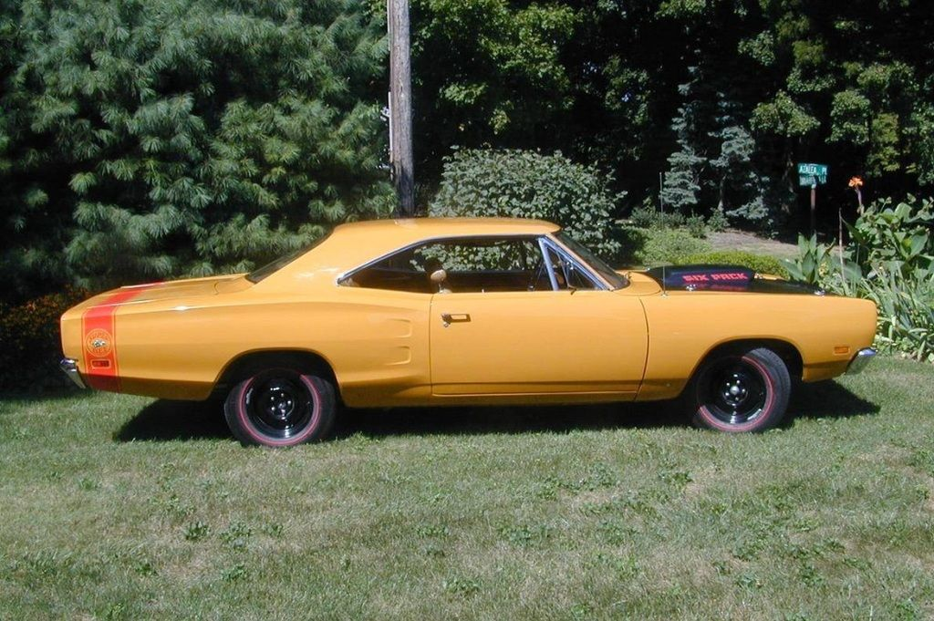 1969 1/2 A12 Superbee Butterscotch exterior/tan interior