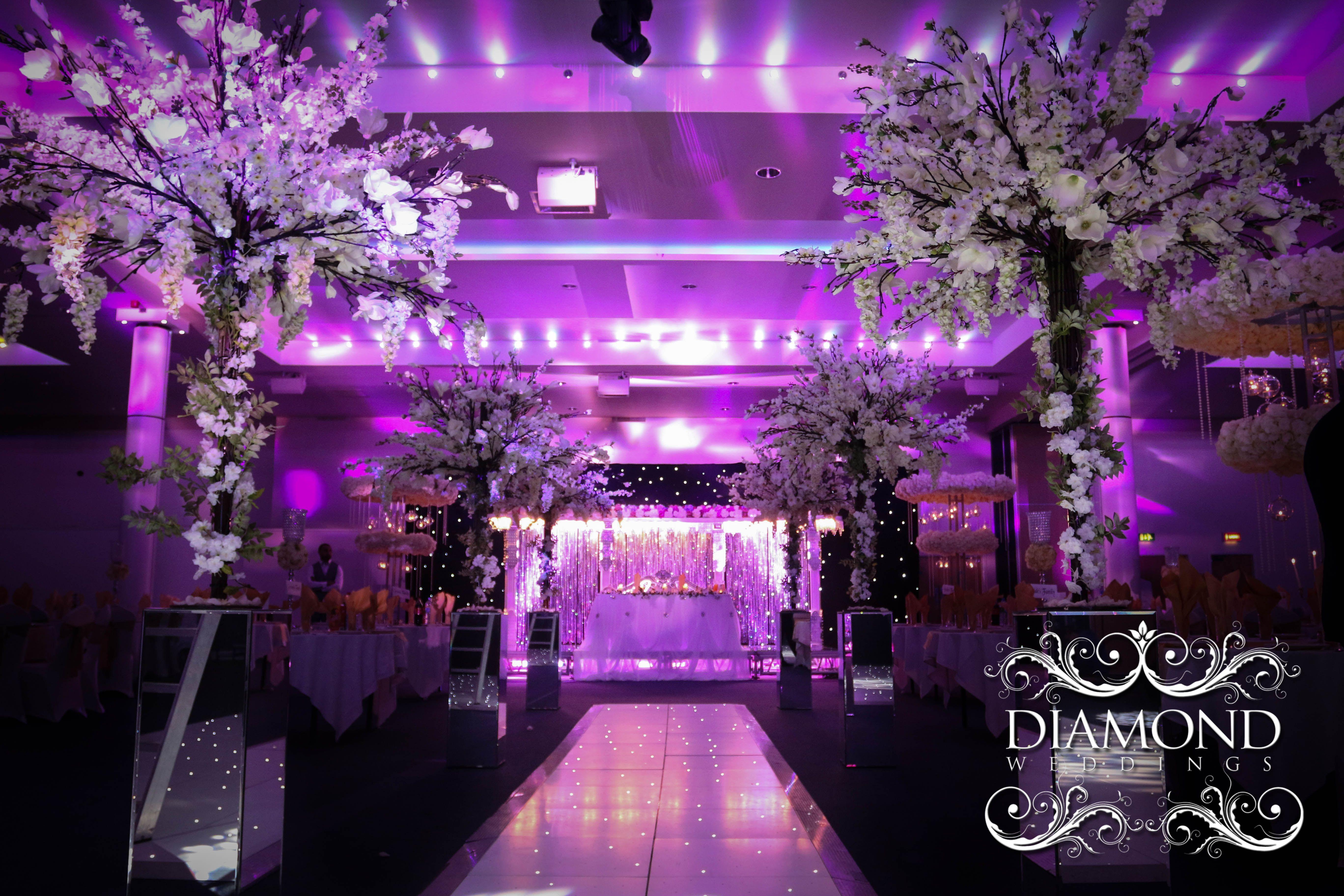 indian & asian wedding decor services, gallery - diamond