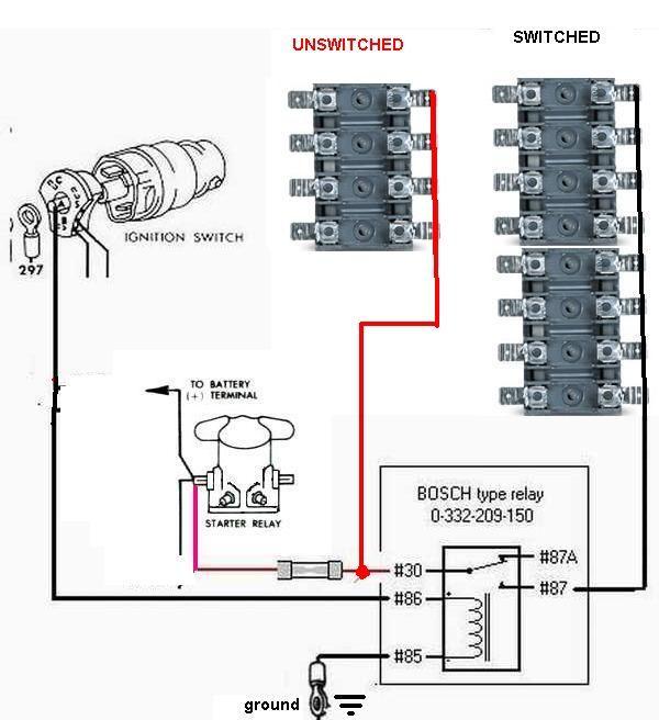 [DIAGRAM_38EU]  aux-power2.jpg | Automotive electrical, Overland truck, Automotive mechanic | T Bucket Wiring Diagram |  | Pinterest