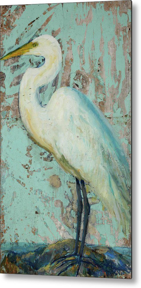 5e2fff627 White Crane Metal Print by Billie Colson. All metal prints are  professionally printed, packaged, and shipped within 3 - 4 business days  and delivered ...