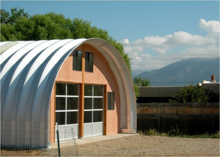 Metal Dome Garage : Quonset hut house building and steel