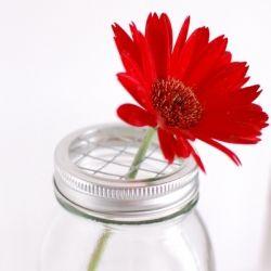 How to make DIY Mason Jar Flower Lids!