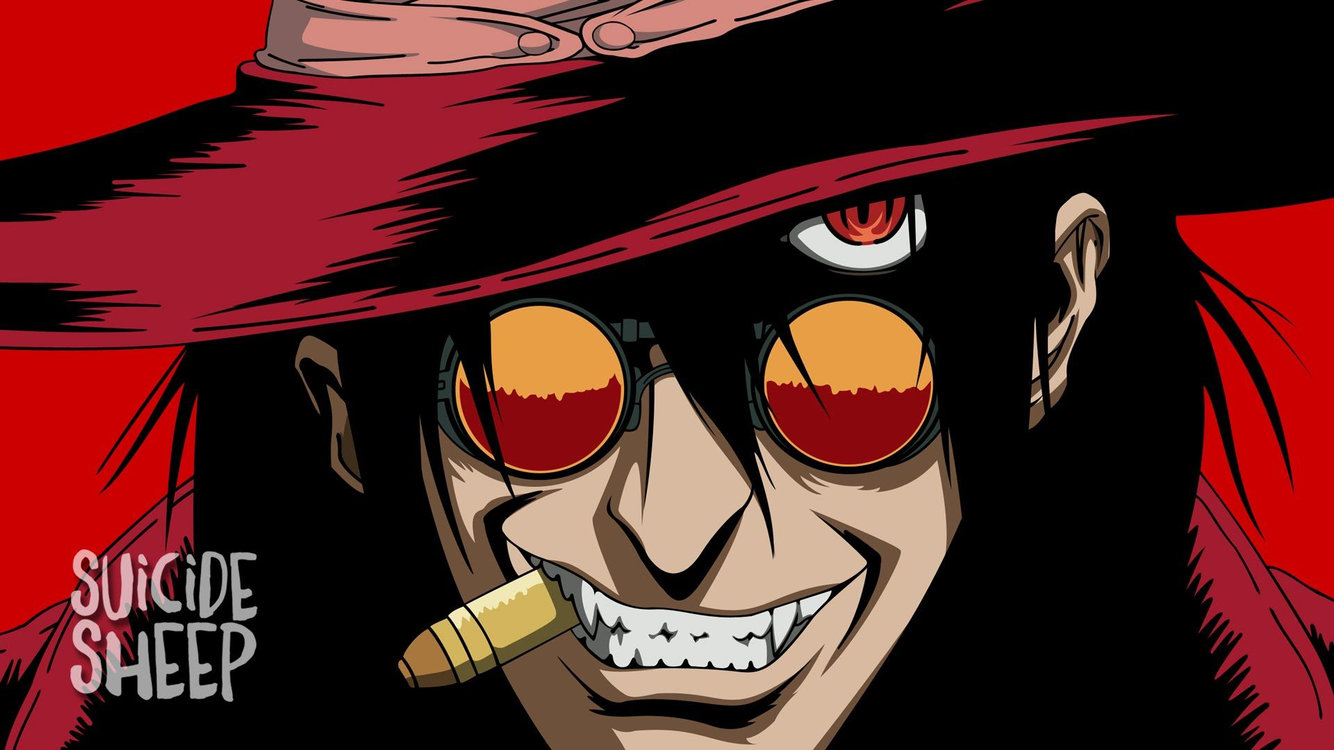 Lazyboy Empire Vampire With Images Hellsing Alucard Alucard