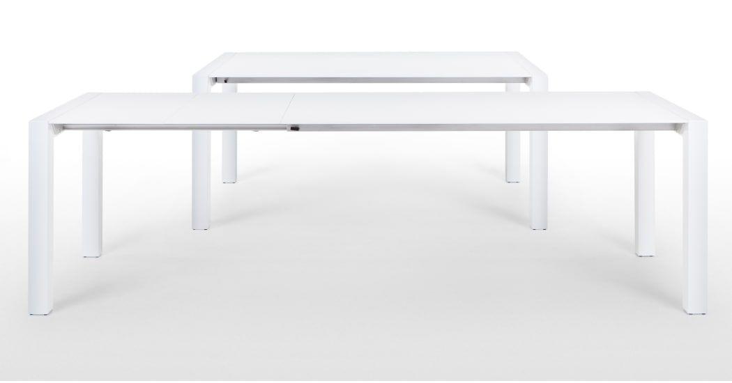Groovy Bramante Extending Dining Table White Kitchen Extension Short Links Chair Design For Home Short Linksinfo