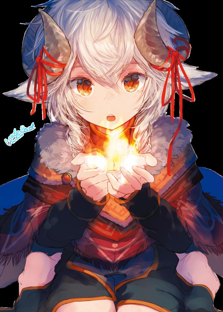 Flame Render 174 by StarrySkyTrench Anime, Anime neko