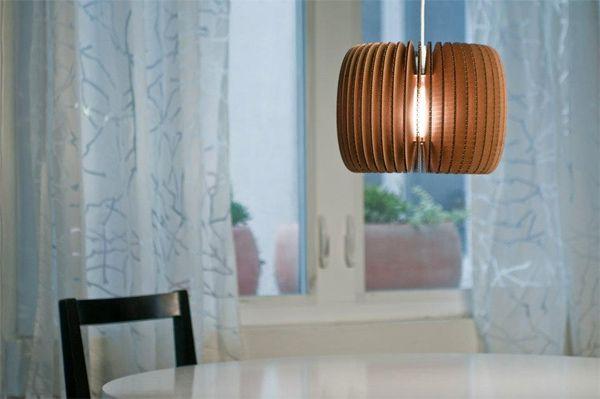 Agi Miagi's Cardboard Lighting #modern #lighting #cardboard #design